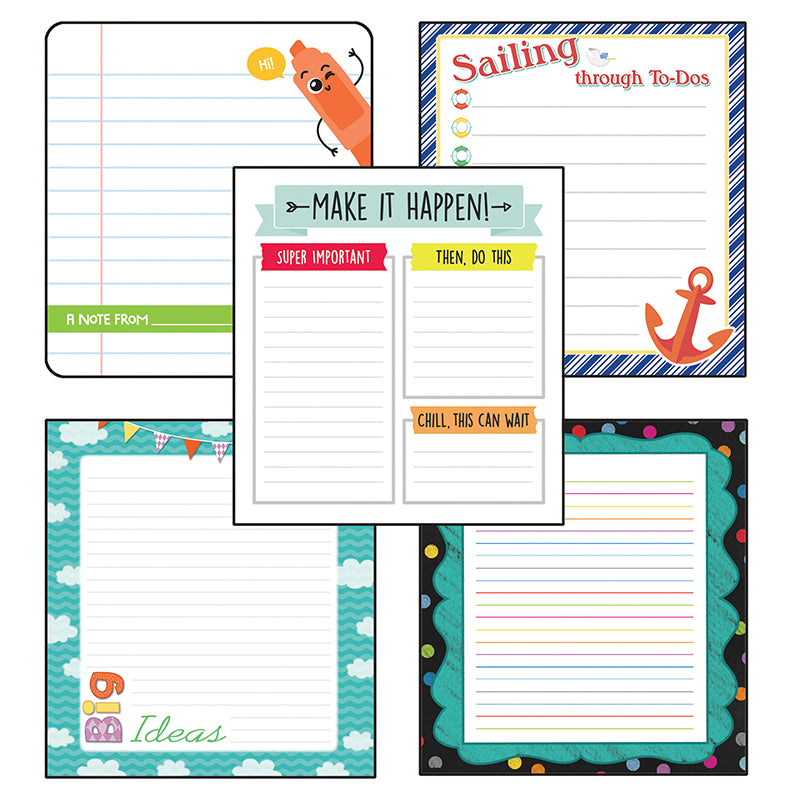 Lined Notepad Set