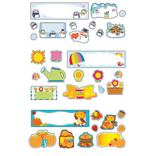 Seasonal Mini Bulletin Board Sets