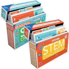 STEM Challenges Learning Cards Bundle