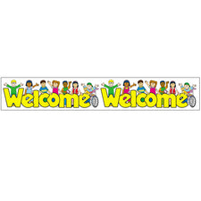 Welcome Kids Straight Borders
