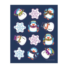 Winter Fun Shape Stickers