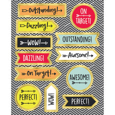 Aim High Motivators Motivational Stickers