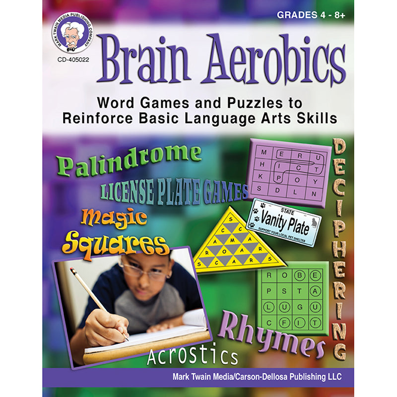 Brain Aerobics Workbook, Grades 4-12