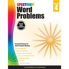 Spectrum Word Problems Workbook, Grade 4