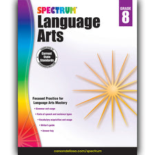 Spectrum Language Arts Workbook, Grade 8