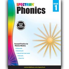 Spectrum Phonics Workbook, Grade 1