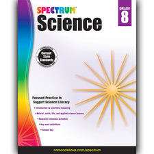 Spectrum Science Workbook, Grade 8