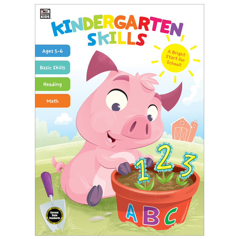 Thinking Kids: Kindergarten Skills Workbook