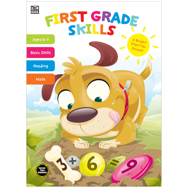 Thinking Kids: First Grade Skills Workbook