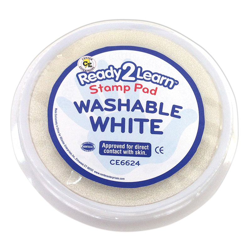 Ready2Learn™ Washable Stamp Pad, White
