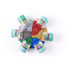 Glitter, Set of 6, Assorted Colors
