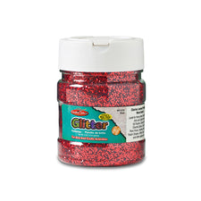 Creative Arts™ Glitter, 4 Oz. Red