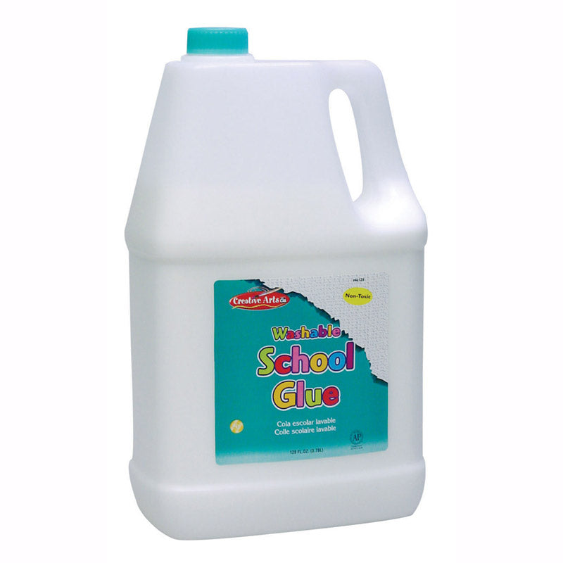 Washable School Glue, 1 Gallon Bottle