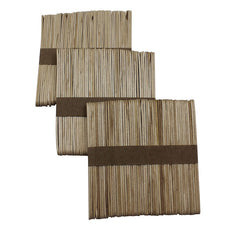 Natural Craft Sticks, 150 Per Bag