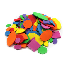 Assorted Foam Shapes, 264 Pieces