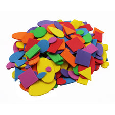 Assorted Foam Shapes, 720 Pieces