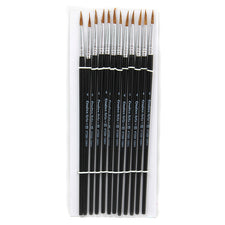 "Water Color Pointed Round Brushes, Size #4 (9/16""), Long"
