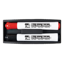 Magnetic Whiteboard Eraser with Markers