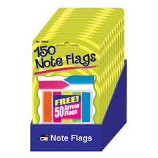 Note Flags - Set of 150, Assorted