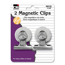 Magnetic Spring Clips, 2Pk