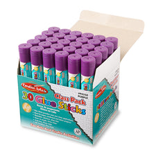 Glue Sticks Classpack, .28 Oz Purple