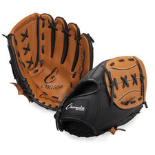 "11"" Leather & Vinyl Baseball/Softball Glove"
