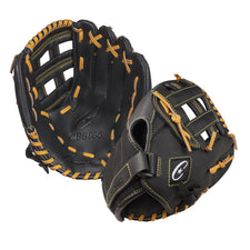 "11"" Leather & Nylon Baseball/Softball Glove"