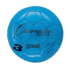 Extreme Soccer Ball, Size 3 Blue