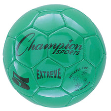 Extreme Soccer Ball, Size 5 Green