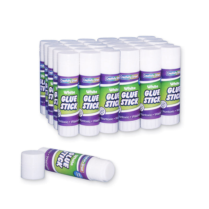 Glue Sticks, Clear .28 Oz