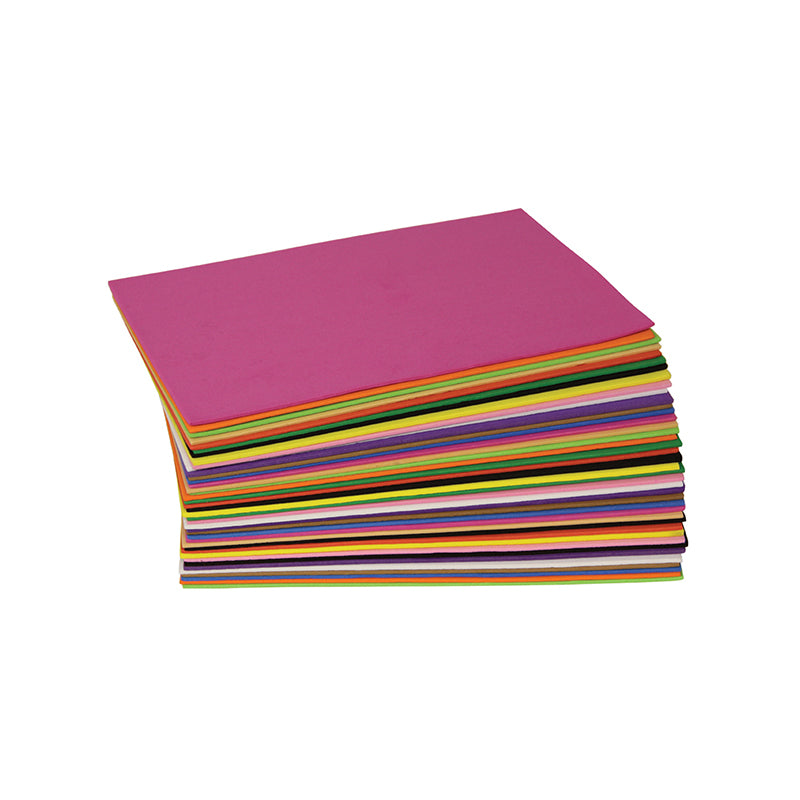 WonderFoam Sheets, Assorted Colors