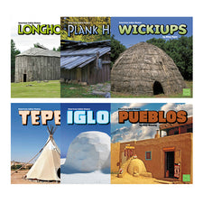 American Indian Homes (6 Book Set)