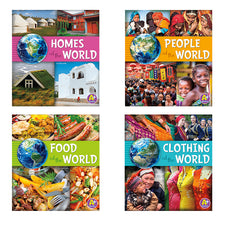 Go Go Global, Set of 4 Books