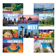 United States by Region (5 Book Set)