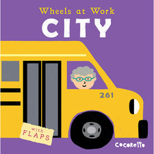 Wheels at Work: City, Board Book