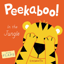 Peekaboo! In the Jungle! Board Book