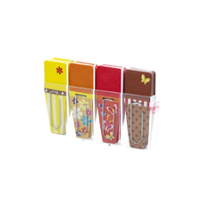 Clip-Flags, Spring (Yellow, Red, Orange, Brown)