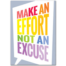 Make an Effort... Inspire U Poster