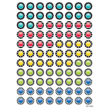 Bold & Bright Dazzling Dots Hot Spots Stickers