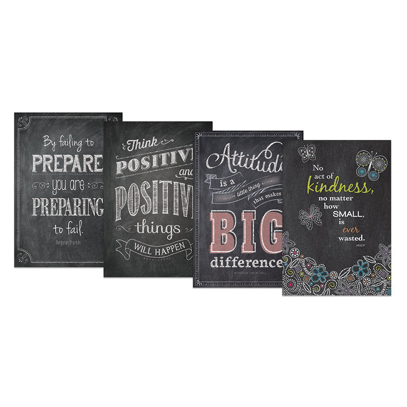 Chalk It Up Inspire U Poster Pack 5 Ctp0567 Supplyme