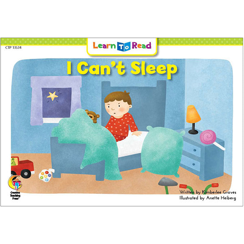 Learn to Read: I Can't Sleep