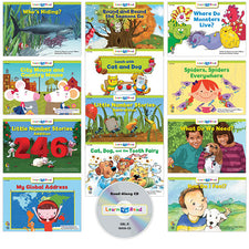 Learn to Read: Variety Pack 8 with CD, Level D