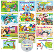Learn to Read: Variety Pack 11 with CD, Level E–F