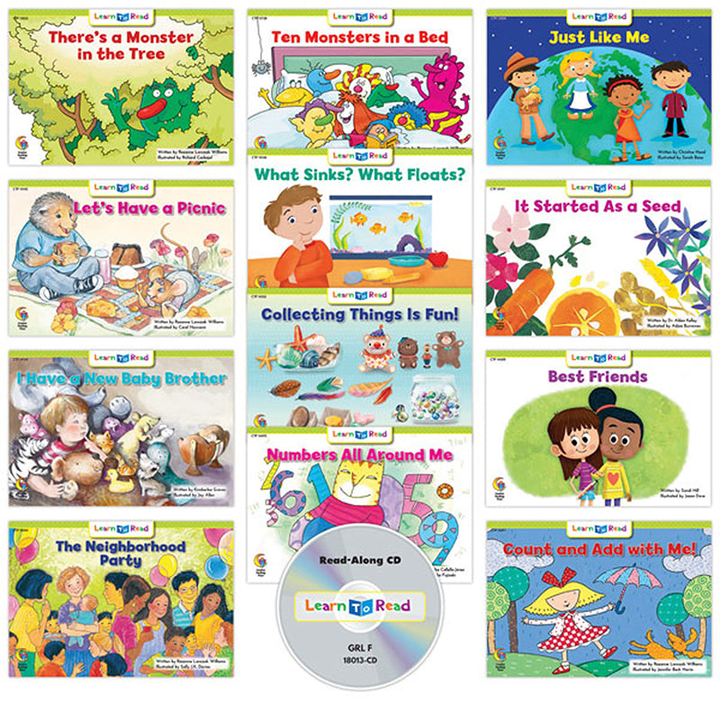 Learn to Read: Variety Pack 13 with CD, Level F