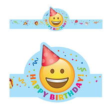 Emoji Fun Happy Birthday Crown