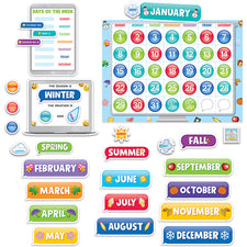 Emoji Fun Calendar Bulletin Board Set
