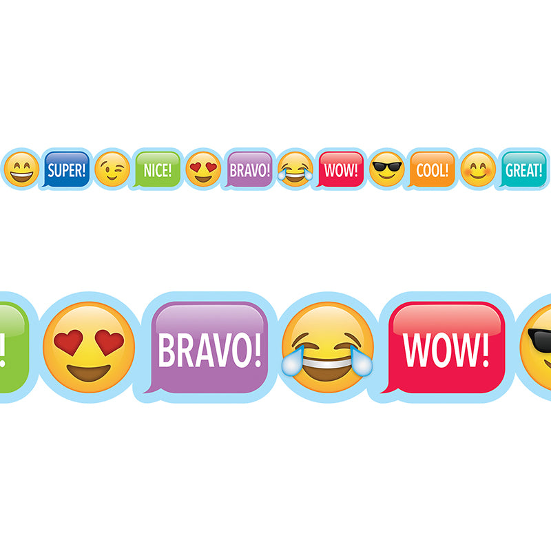 Emoji Fun Emoji Rewards Bulletin Board Border