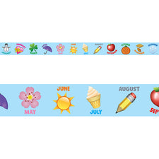 Emoji Fun Emoji Months of the Year Bulletin Board Border
