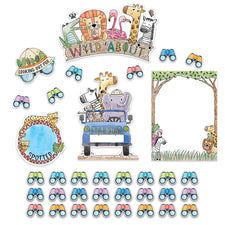Safari Friends Wild About Bulletin Board Set