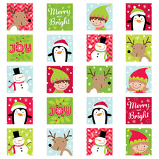 Merry & Bright Stickers